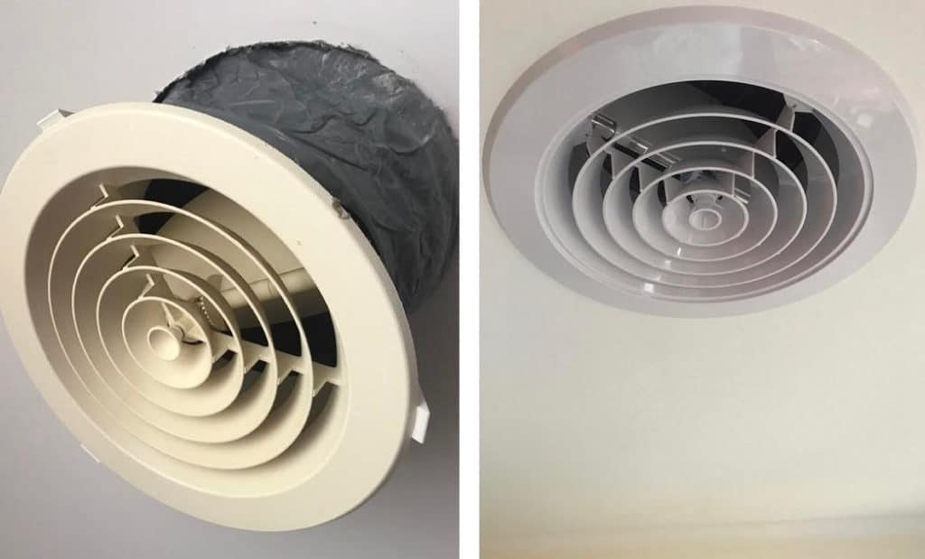 Replacing Ducted Heating Vents